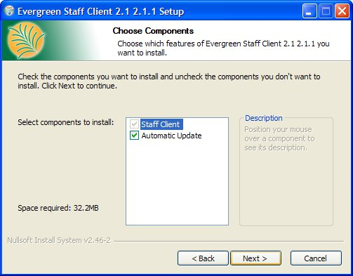 Evergreen Staff Client Download and Installation with
