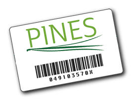 PINES Library Card